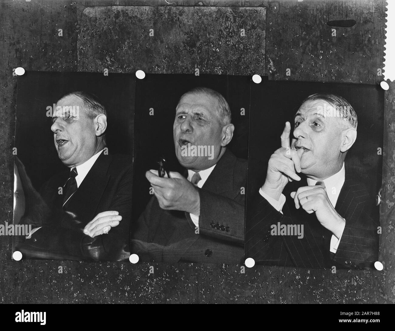 Charles De Gaulle 1958 High Resolution Stock Photography and Images - Alamy