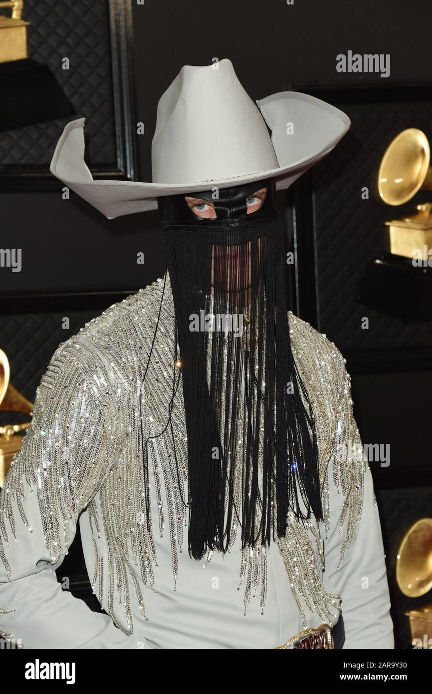 los angeles ca 26th jan 2020 orville peck at arrivals for 62nd annual grammy awards arrivals https www alamy com los angeles ca 26th jan 2020 orville peck at arrivals for 62nd annual grammy awards arrivals 3 staples center los angeles ca january 26 2020 credit priscilla granteverett collectionalamy live news image341352900 html