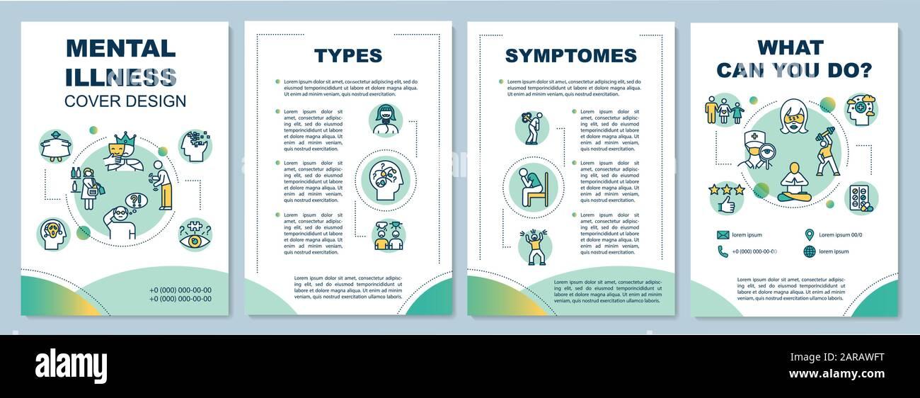 Health Brochure Template from c8.alamy.com