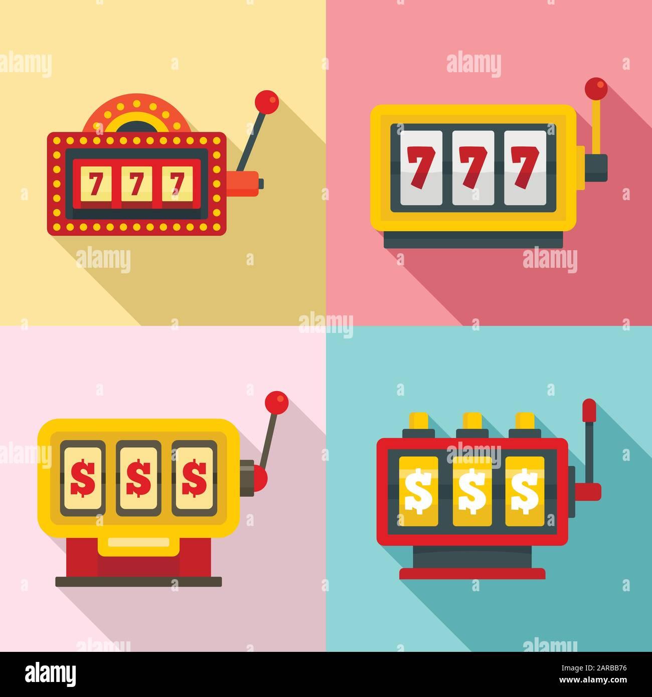 Máquinas tragamonedas de casino
