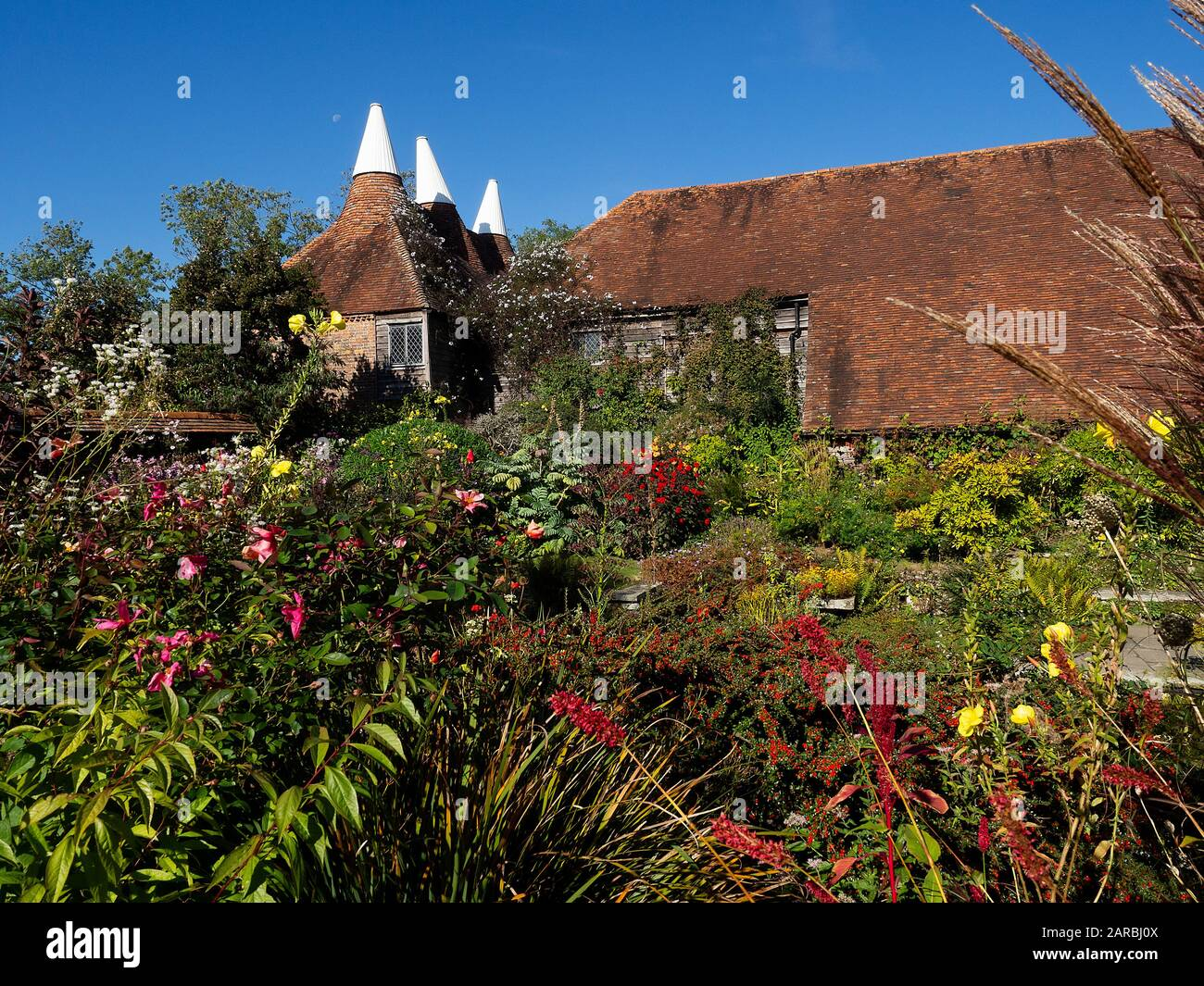 Rye East Sussex England Great Dixter House Gardens In