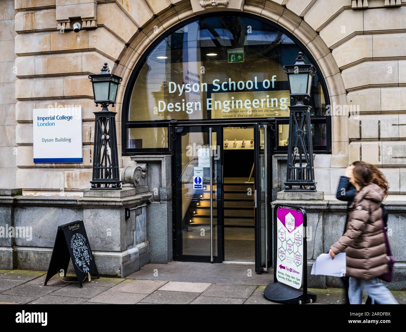 Imperial College London The Dyson School Of Design Engineering At The Imperial College South Kensington Campus In Central London Stock Photo Alamy