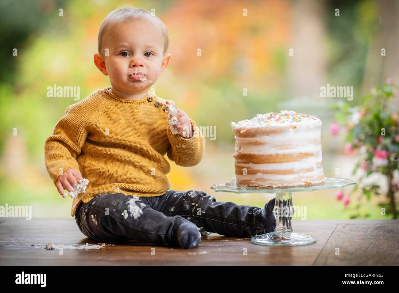 Astonishing Gross And Cake Stock Photos Gross And Cake Stock Images Alamy Personalised Birthday Cards Arneslily Jamesorg