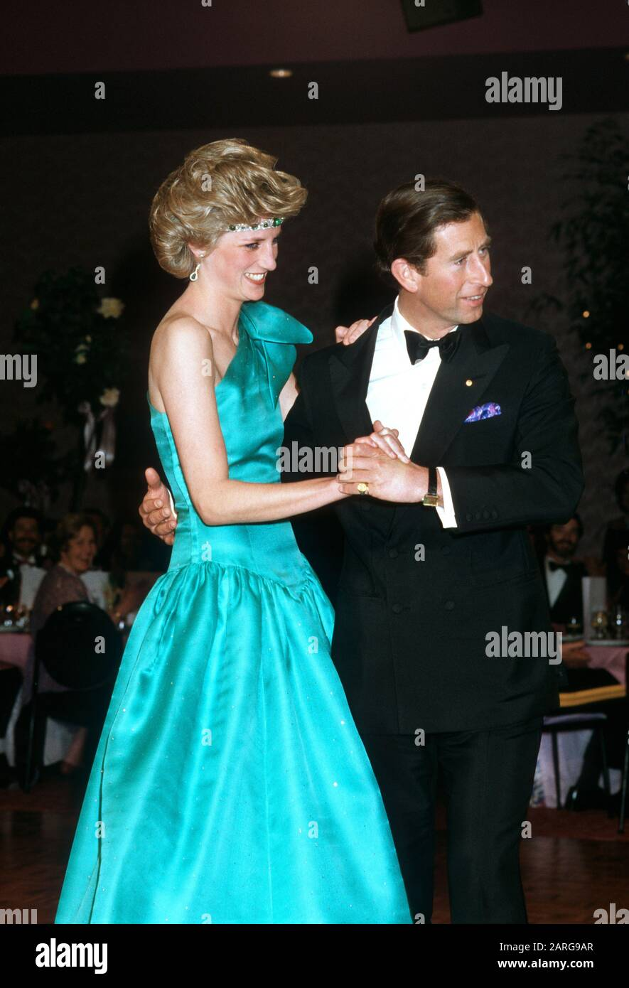 trh prince charles and princess diana dancing at the southern cross hotel melbourne australia october 1985 stock photo alamy https www alamy com trh prince charles and princess diana dancing at the southern cross hotel melbourne australia october 1985 image341492671 html