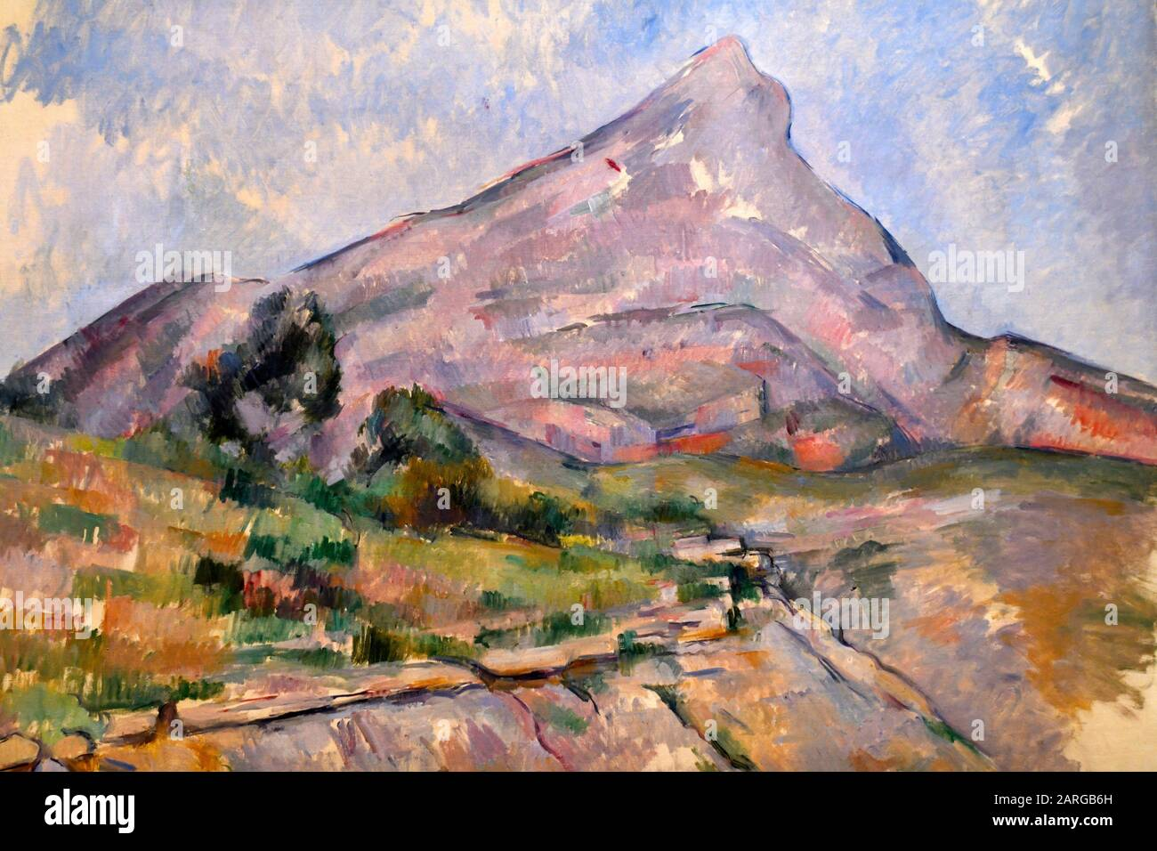 Cezanne Mont Sainte Victoire High Resolution Stock Photography And Images Alamy