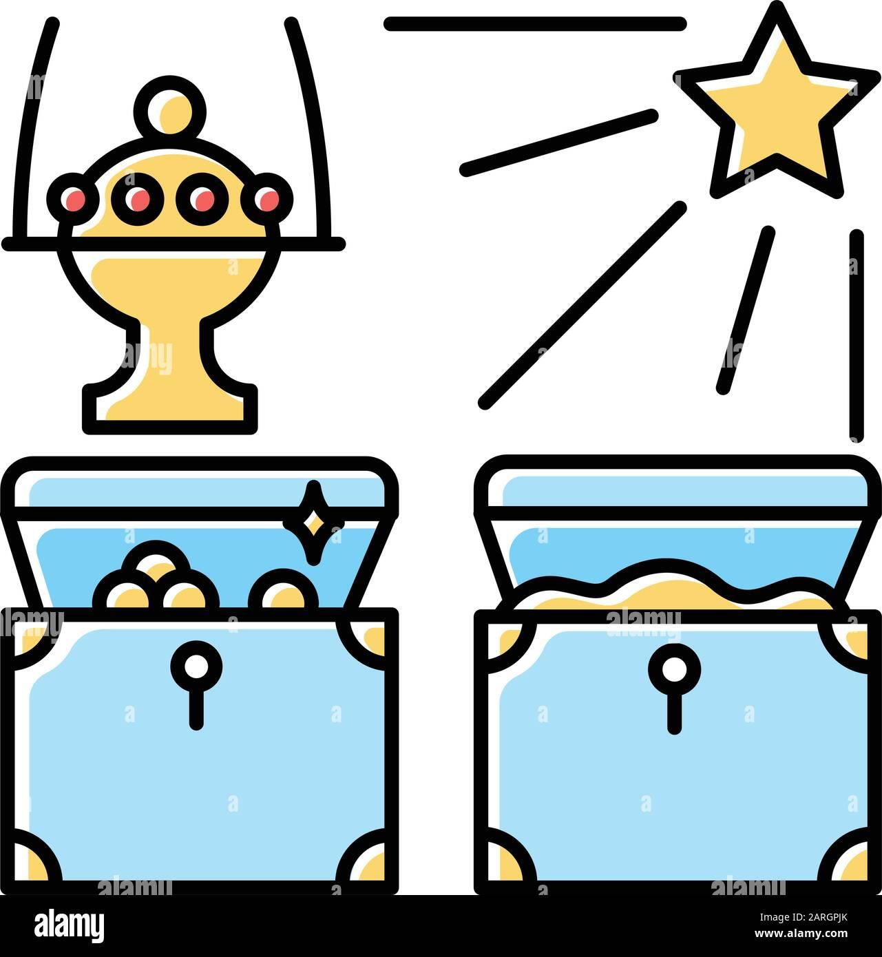 Jesus And Children Cartoon Vector Stock Vector - Illustration of gift,  duty: 94252923