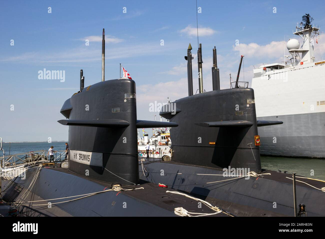Den Helder The Netherlands Jul 7 2012 Dutch Navy Walrus Class Submarine Moored During The Dutch Navy Days Stock Photo Alamy