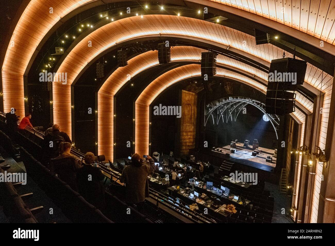 Hamburg Germany 28th Jan 2020 View From The Balcony Into The Auditorium Of The Mehr Theatre