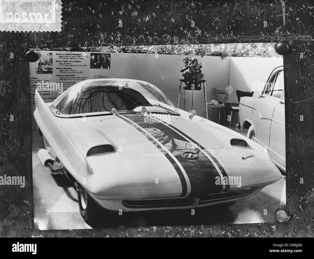 Salon de Lautomobile Paris de Simca Talbot Date: 7 October 7