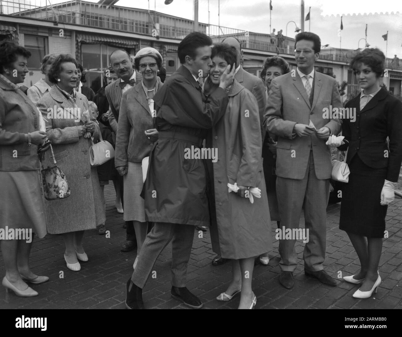 Departure Of Famous Fashion Designer Frans Molenaar To Paris Date September 27 1959 Location France Paris Keywords Departure Fashion Designers Personal Name Frans Molenaar Stock Photo 341582052 Alamy