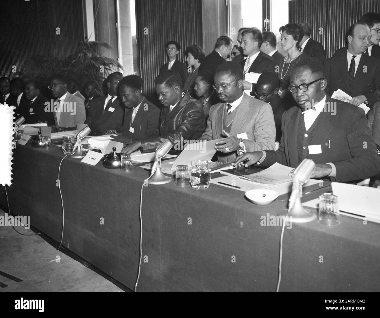 Picture of: Round Table Conference In Brussels Congo Date 20 January 1960 Location Brussels Institution Name Round Table Conference Stock Photo Alamy