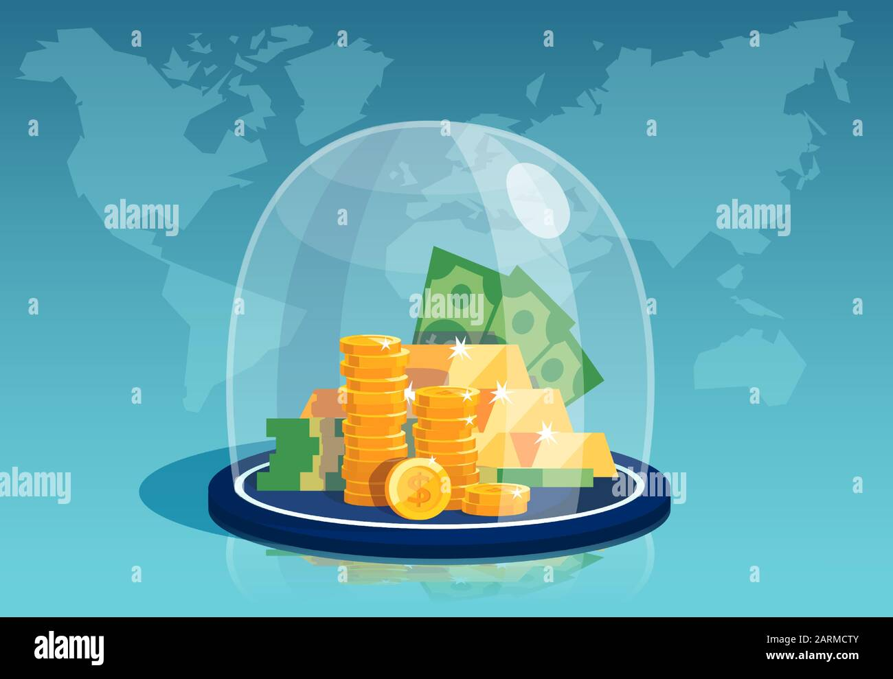 Federal Reserve Stock Vector Images Alamy