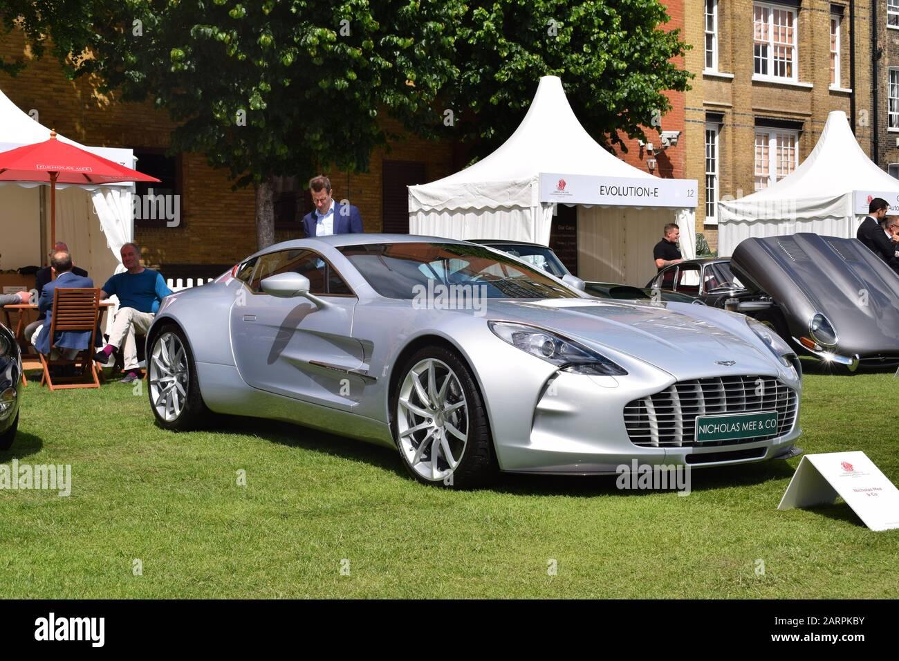Aston Martin One 77 Stock Photo Alamy