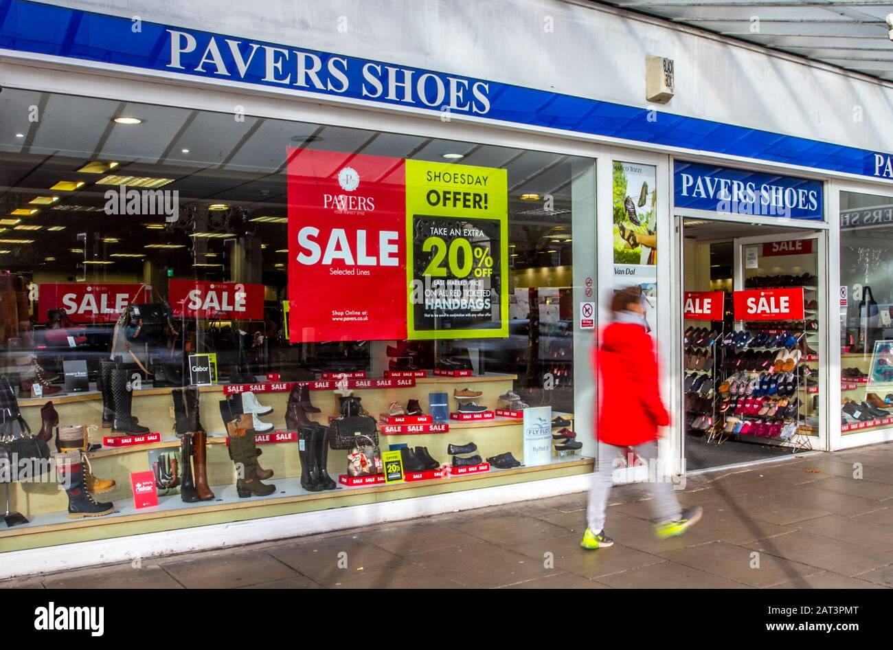 Pavers Shoes High Resolution Stock