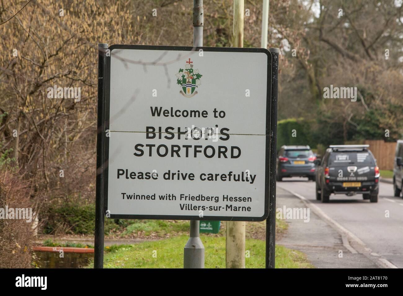 Bishops Stortford, Hertfordshire, UK Stock Photo
