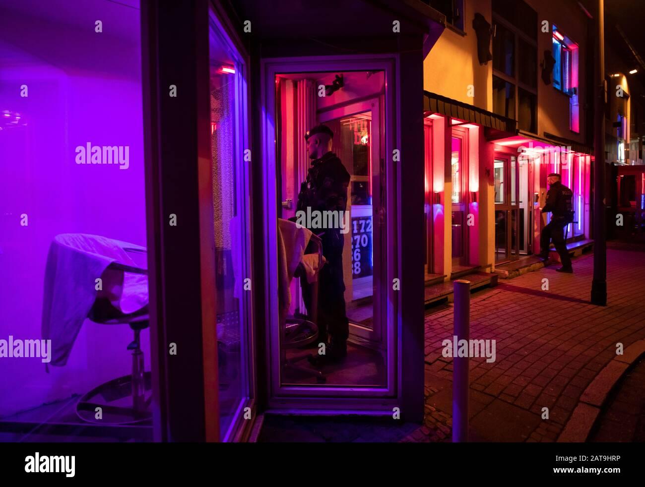 Stahlstraße essen Red Light