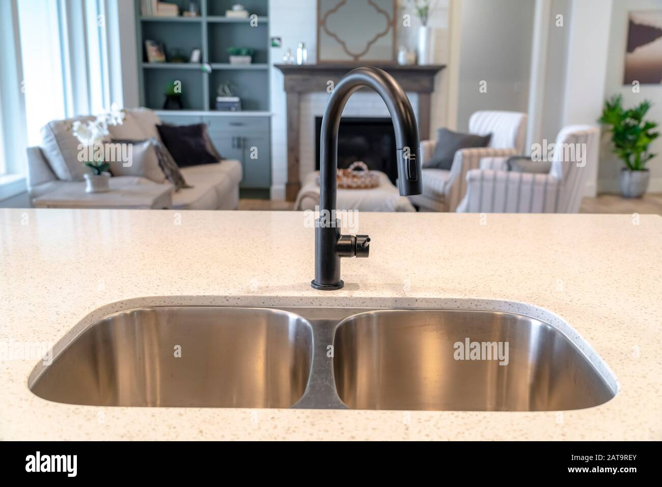 Double Kitchen Sink High Resolution Stock Photography And Images Alamy