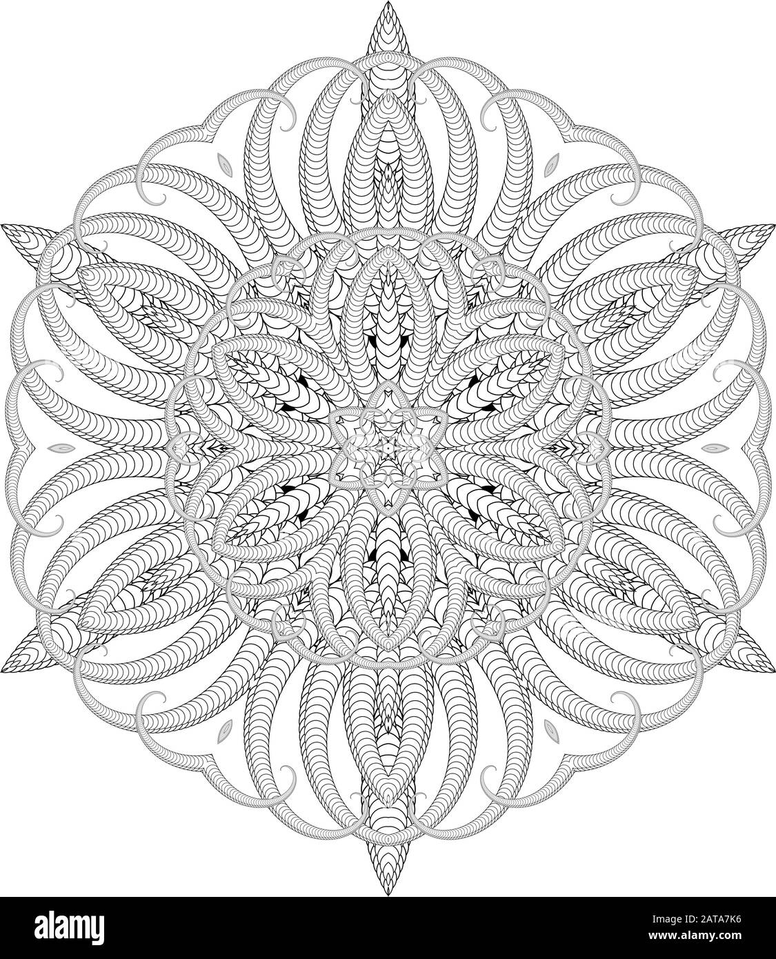 coloring. a pair of mandalas to color. 10 best images about ...   1390x1125
