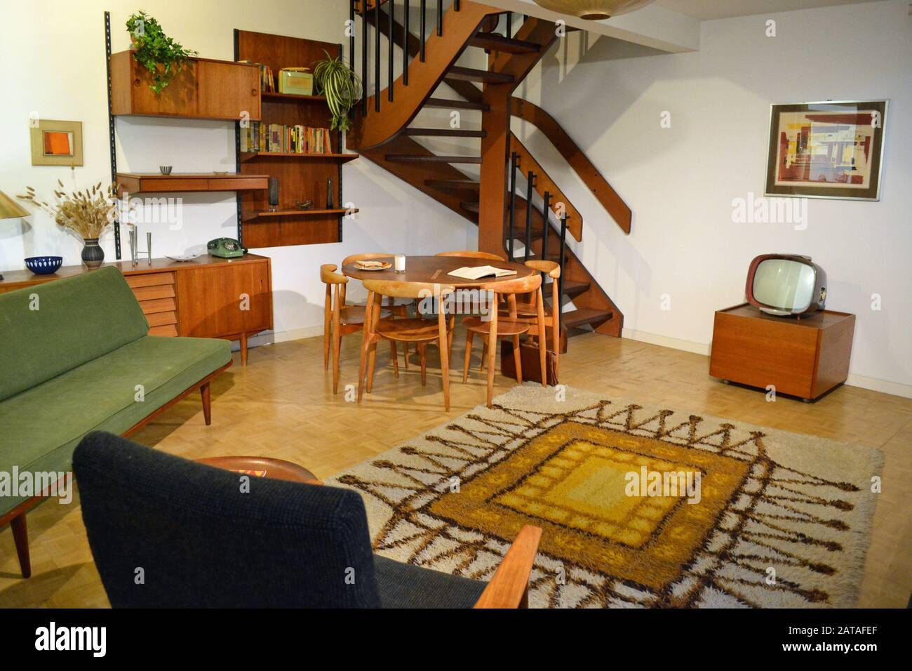 1950s Living Room Uk High Resolution Stock Photography And Images Alamy