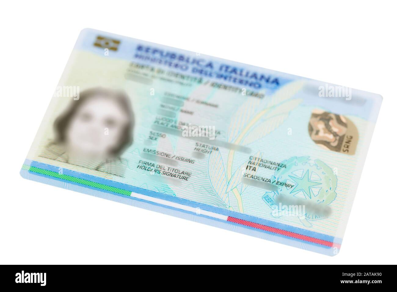 Id Card High Resolution Stock Photography And Images Alamy