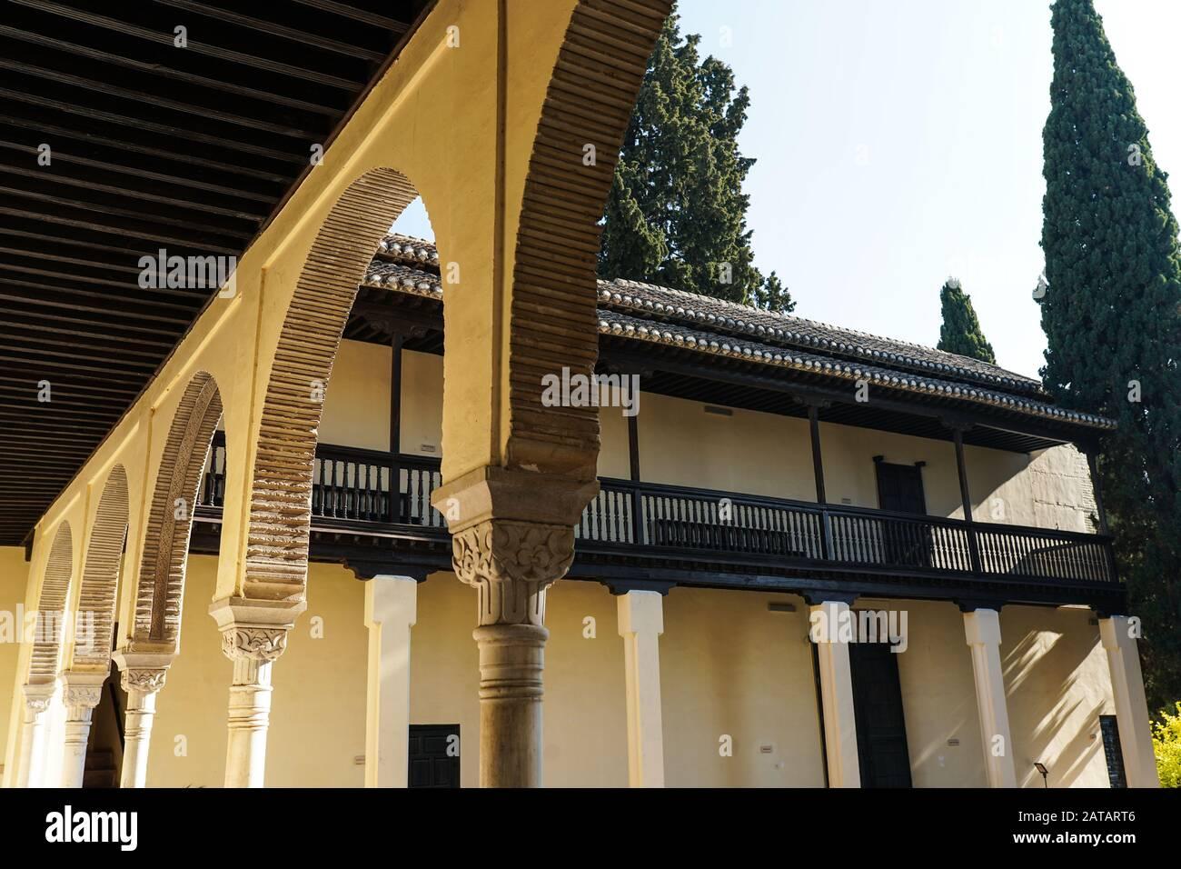 Casa del Chapiz en el Albaicin y Sacromonte de Granada Stock Photo