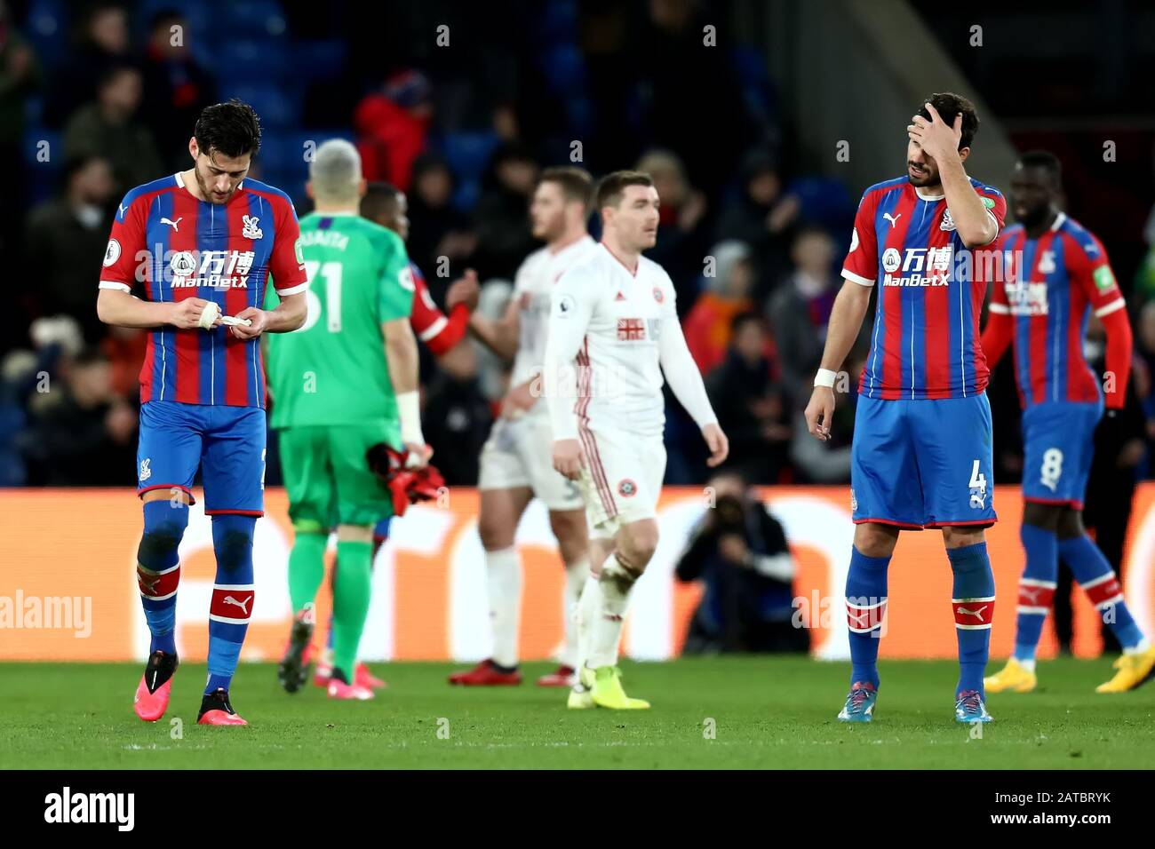 Selhurst Park London Uk 1st Feb 2020 English Premier League Football Crystal Palace Versus Sheffield United