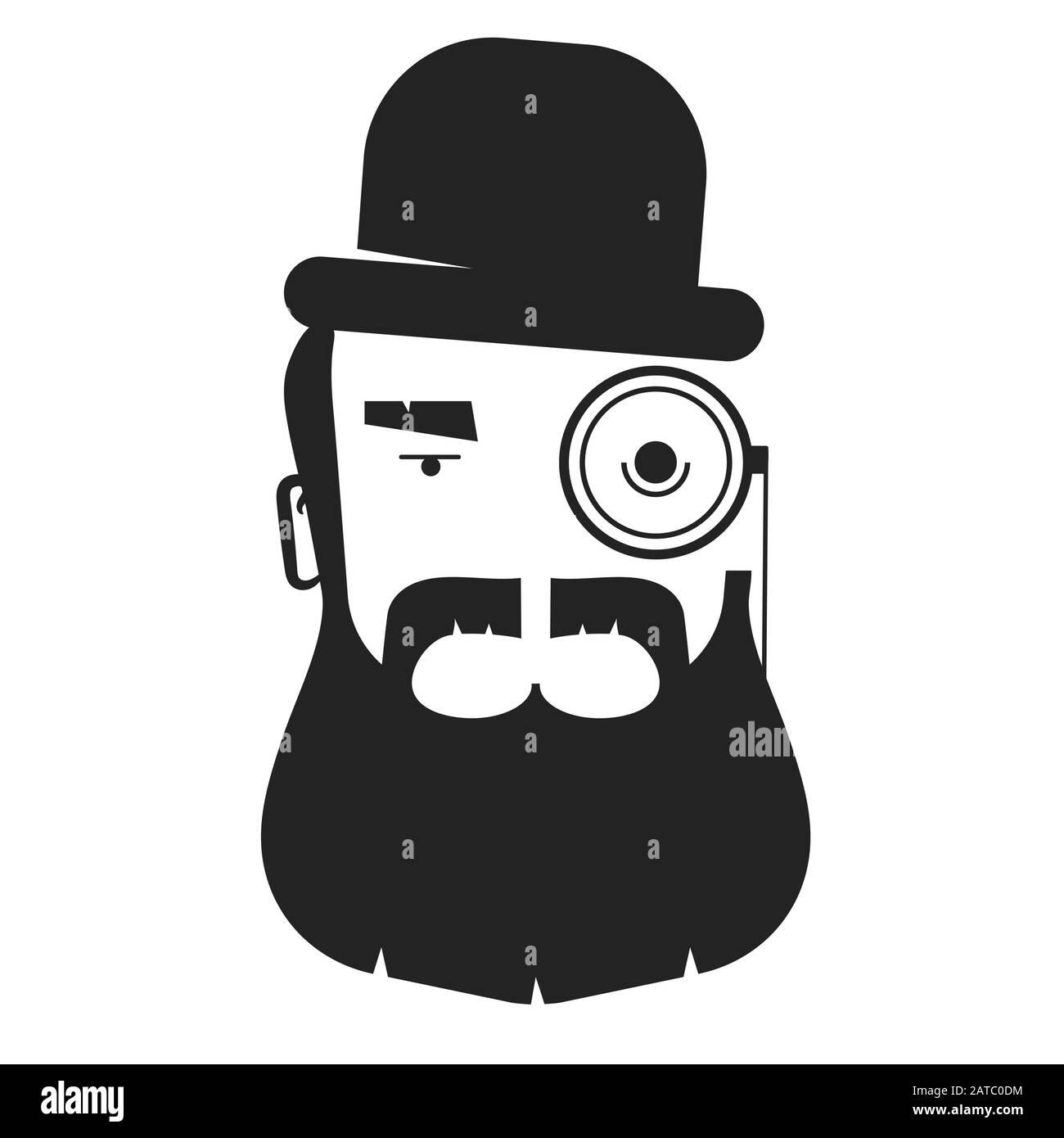 26+ Gentleman Cartoon Logo Pics