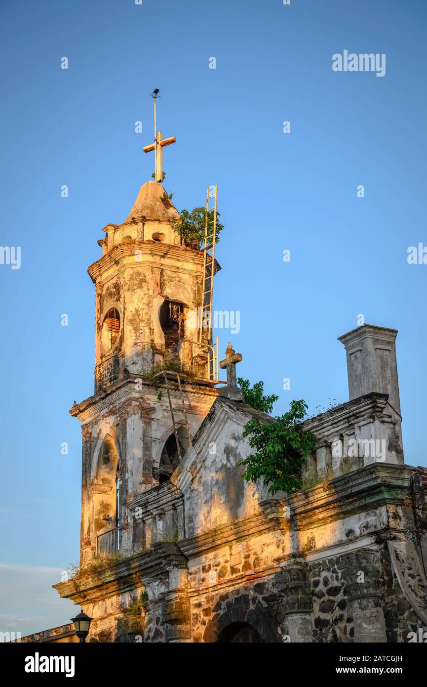 Iglesia Antigua, the old church in San Blas, Riviera Nayarit, Mexico. Stock Photo