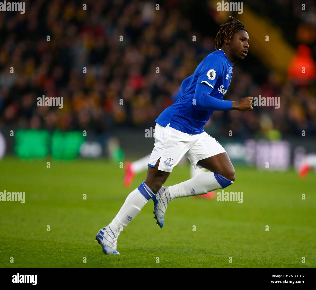 Watford Uk 01st Feb 2020 Everton S Moise Kean During Premier League Match Between Watford And Everton On January 01 2020 At Vicarage Road Stadium Watford England Credit Cal Sport Media Alamy Live News