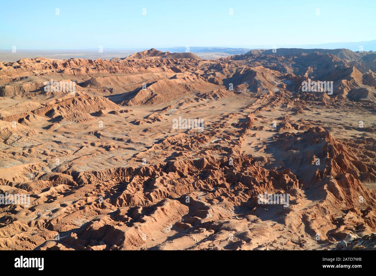 Amazing Rock Formations At Valle De La Luna Or Valley Of The Moon Atacama Desert In Northern Chile Stock Photo Alamy