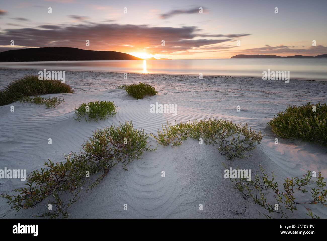 Emu Point at sunrise, Albany, Western Australia, Australia Stock Photo
