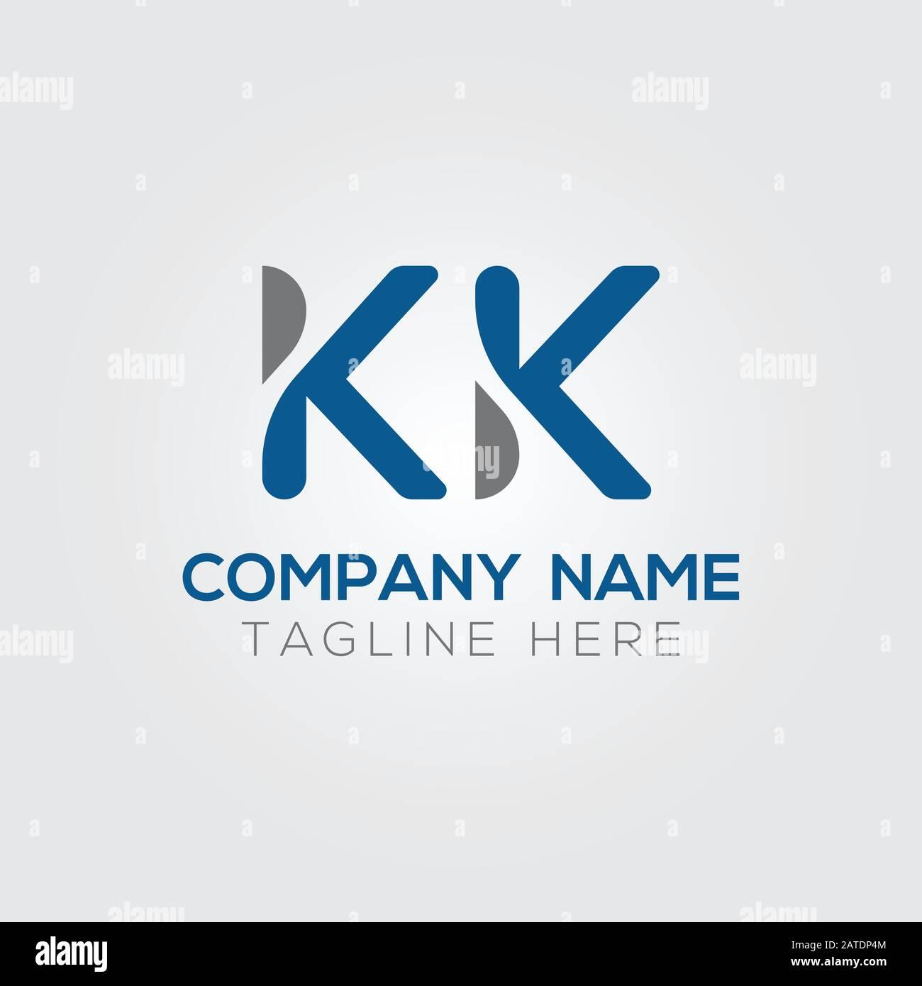 Initial Alphabet Kk Logo Design Vector Template Abstract Letter Kk Linked Logo Stock Vector Image Art Alamy