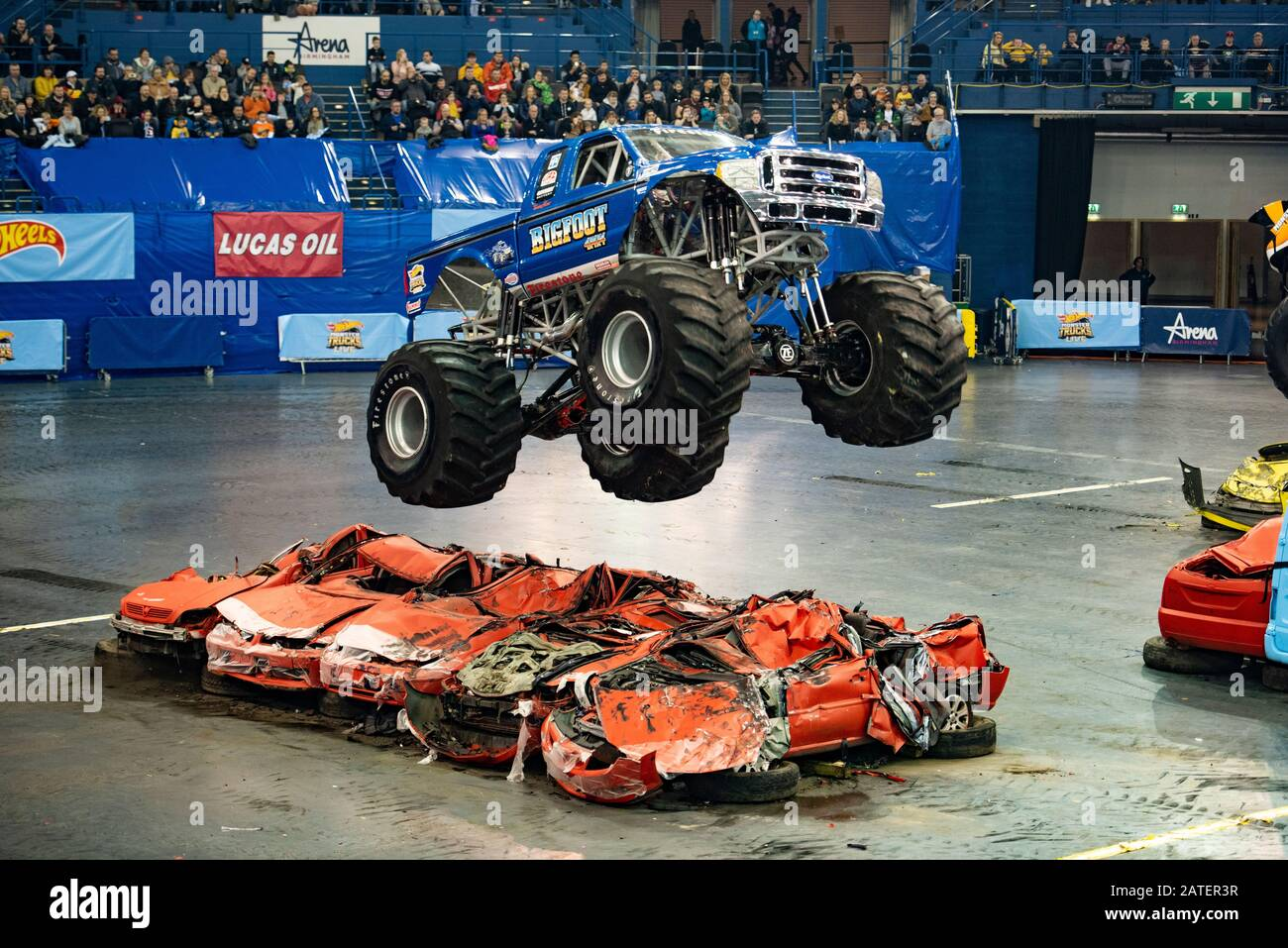 Monster Trucks Freestyle High Resolution Stock Photography And Images Alamy