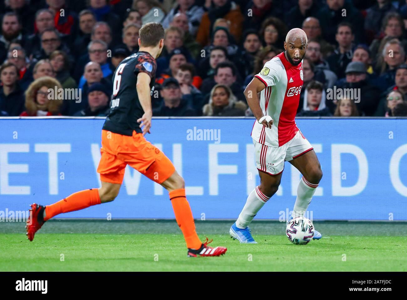 2 February 2020 Amsterdam The Netherlands Soccer Ajax V Psv Eredivisie 2019 2020 Daniel Schwaab Of Psv Eindhoven Ryan Babel Of Ajax Stock Photo Alamy