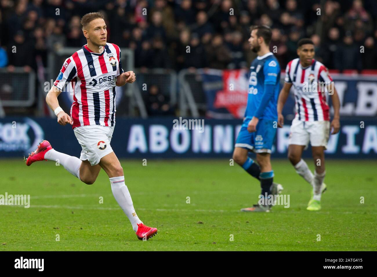 2 february 2020 Tilburg, The Netherlands Soccer Willem II v ...