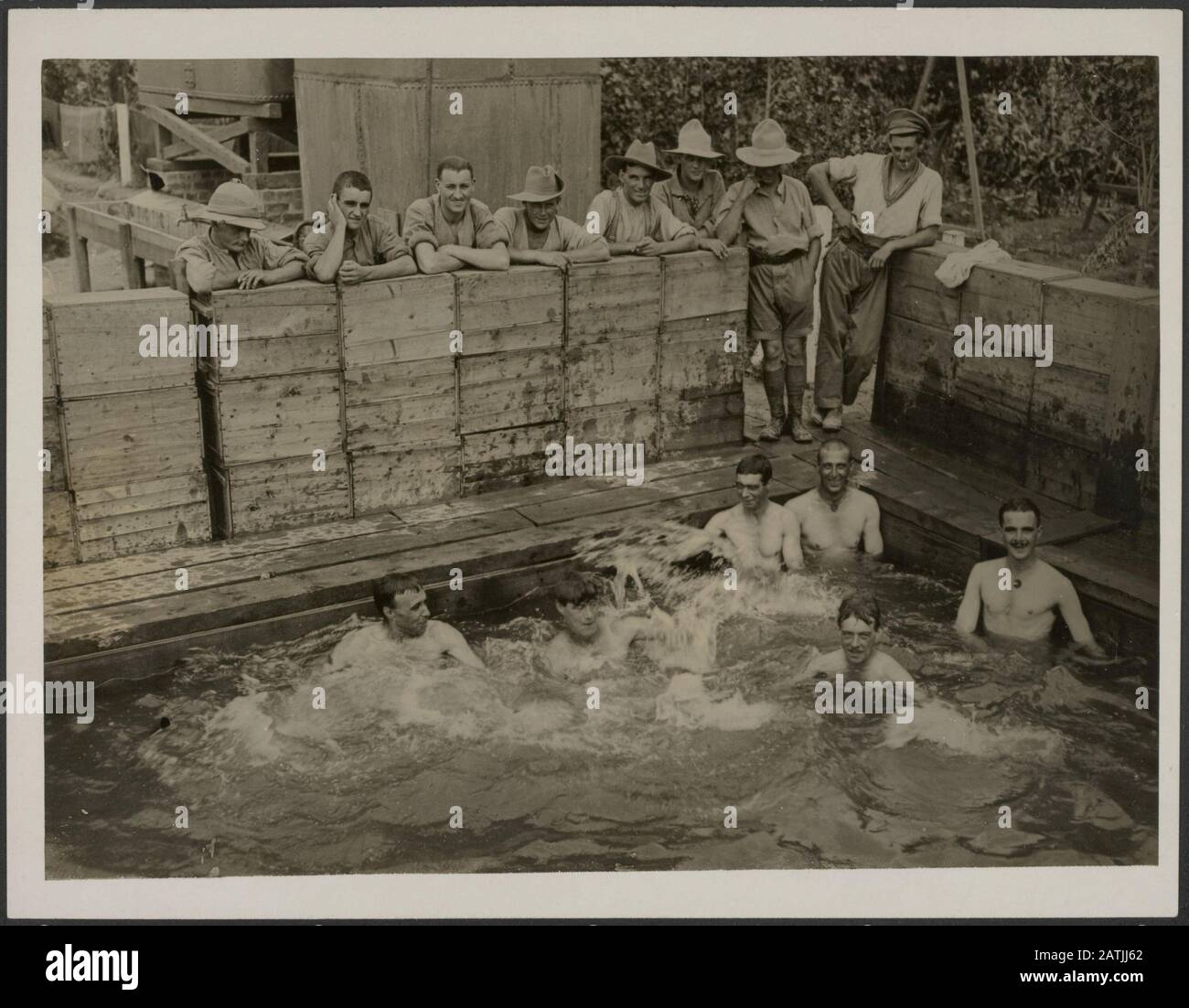 Soldiers Bathing Stock Photos Soldiers Bathing Stock Images Alamy