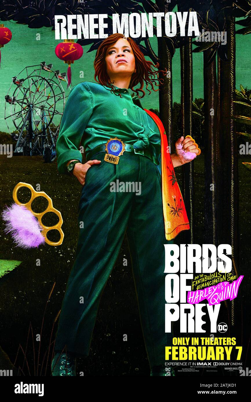 Rosie Perez Poster Birds Of Prey 2020 Photo Credit Warner Bros Pictures The Hollywood Archive Stock Photo Alamy