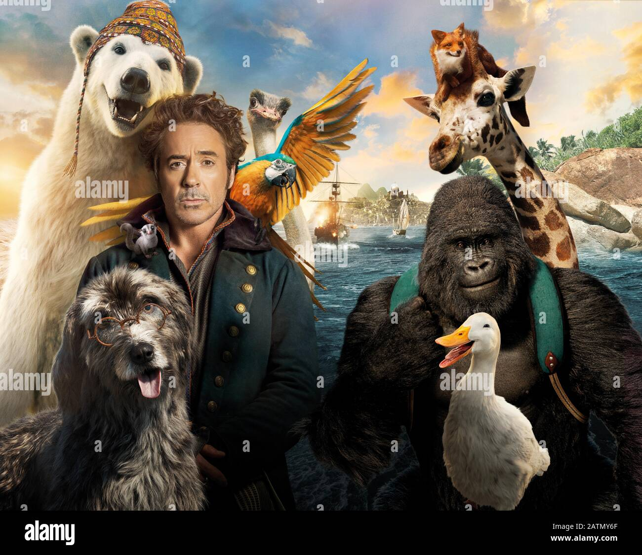 Robert Downey Jr In Dolittle 2020 Directed By Stephen Gaghan Credit Universal Pictures Perfect World Pictures Team Downey Album Stock Photo Alamy