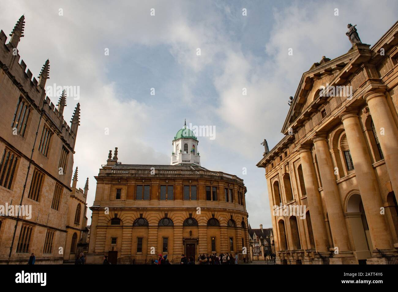 Oxford, England, UK. February 2nd, 2020 The Sheldonian Theatre, Broad Street, Oxford University. Stock Photo