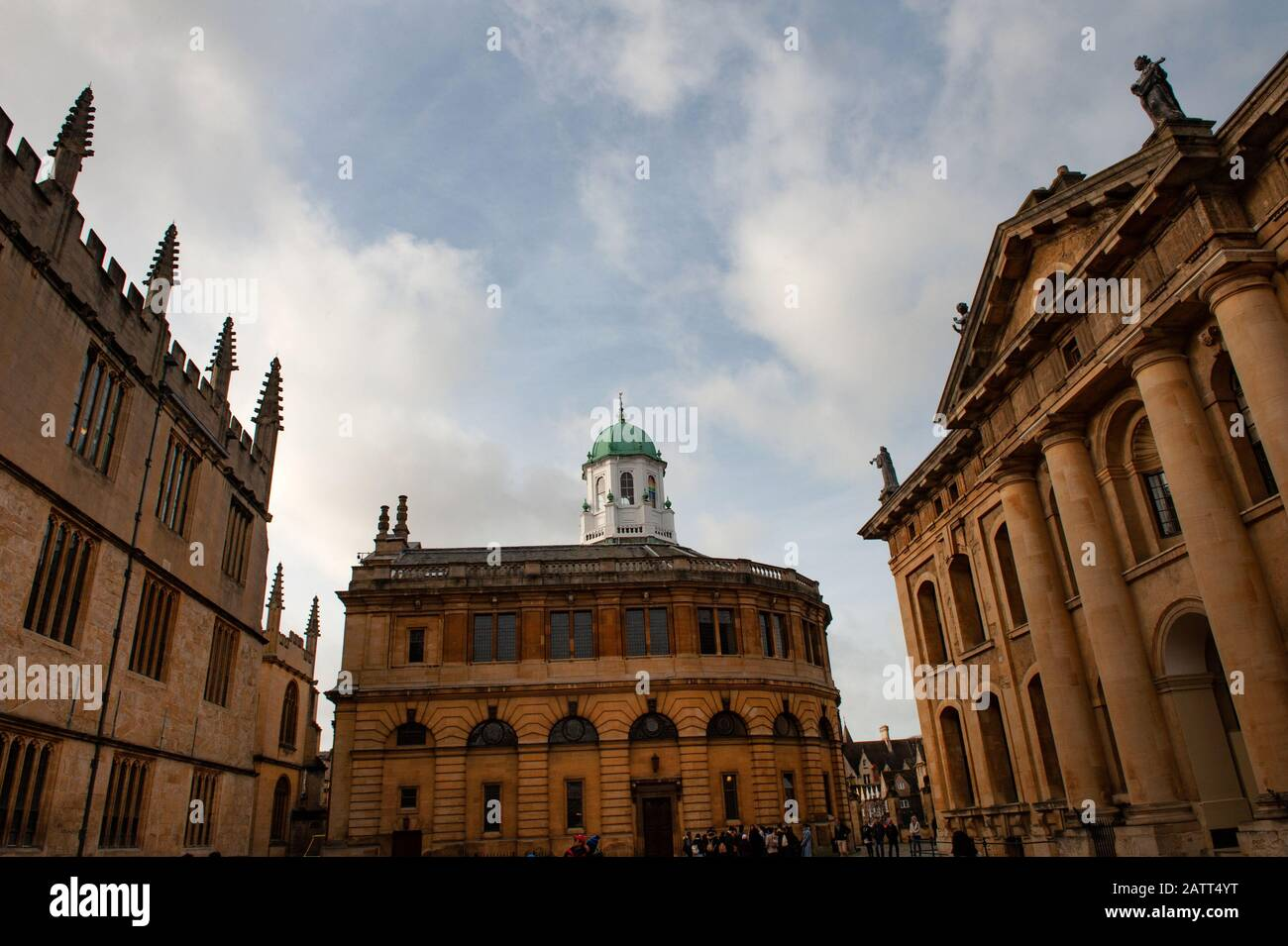 Oxford, England, UK. February 2nd, 2020 The Sheldonian Theatre, Broad Street, Oxford City. Stock Photo
