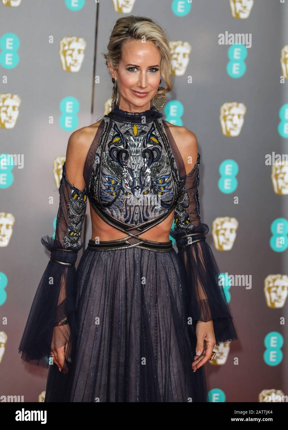 Uk 02nd Feb 2020 Lady Victoria Hervey Attending The British Academy Film Awards At The Royal Albert Hall In London Credit Sopa Images Limited Alamy Live News Stock Photo Alamy