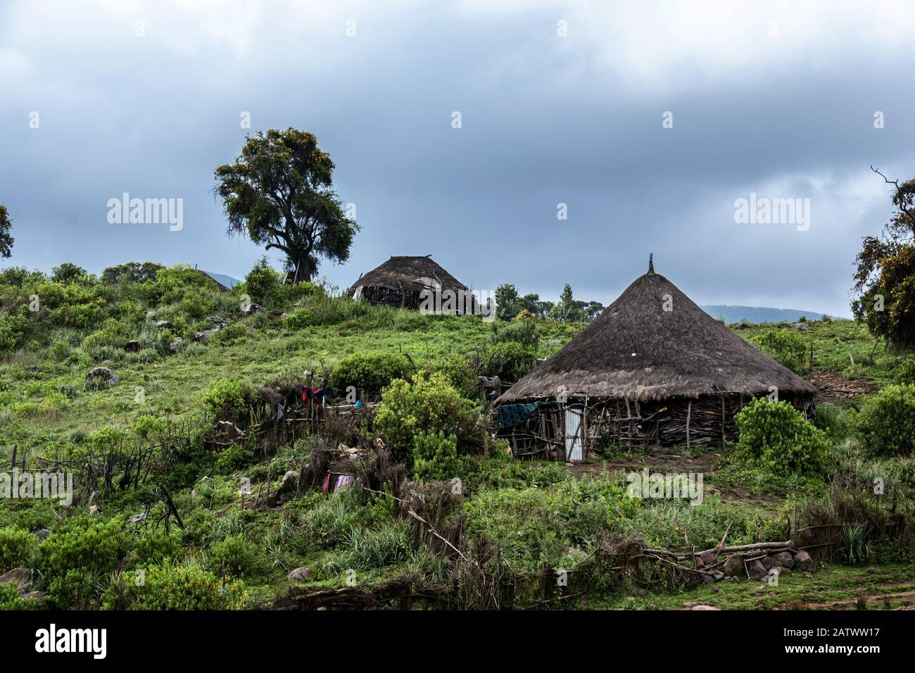 ethiopia bale mountains nationalpark Stock Photo