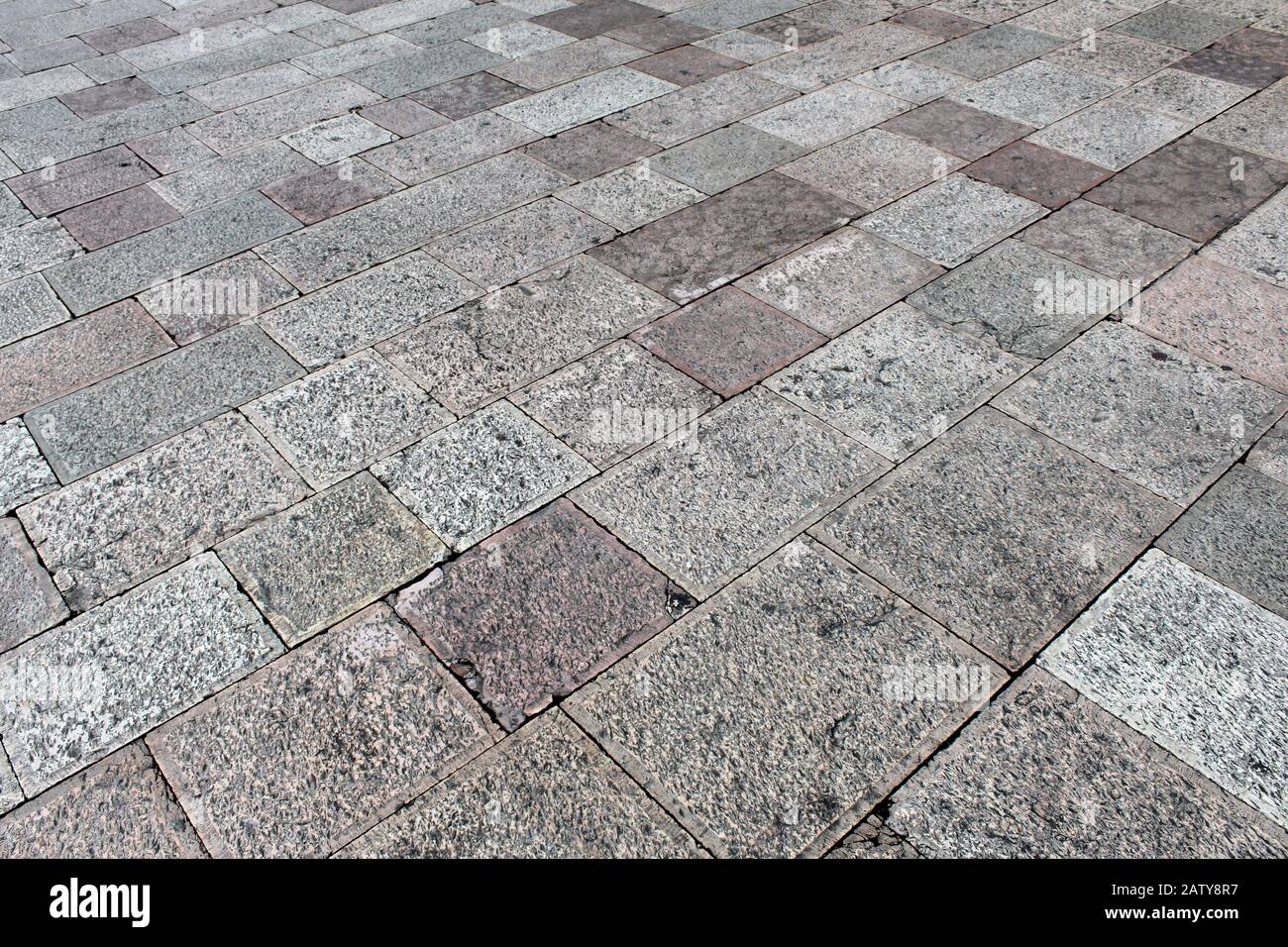 Natural Stone Floor Tiles Squares And Rectangles Texture Stock Photo Alamy