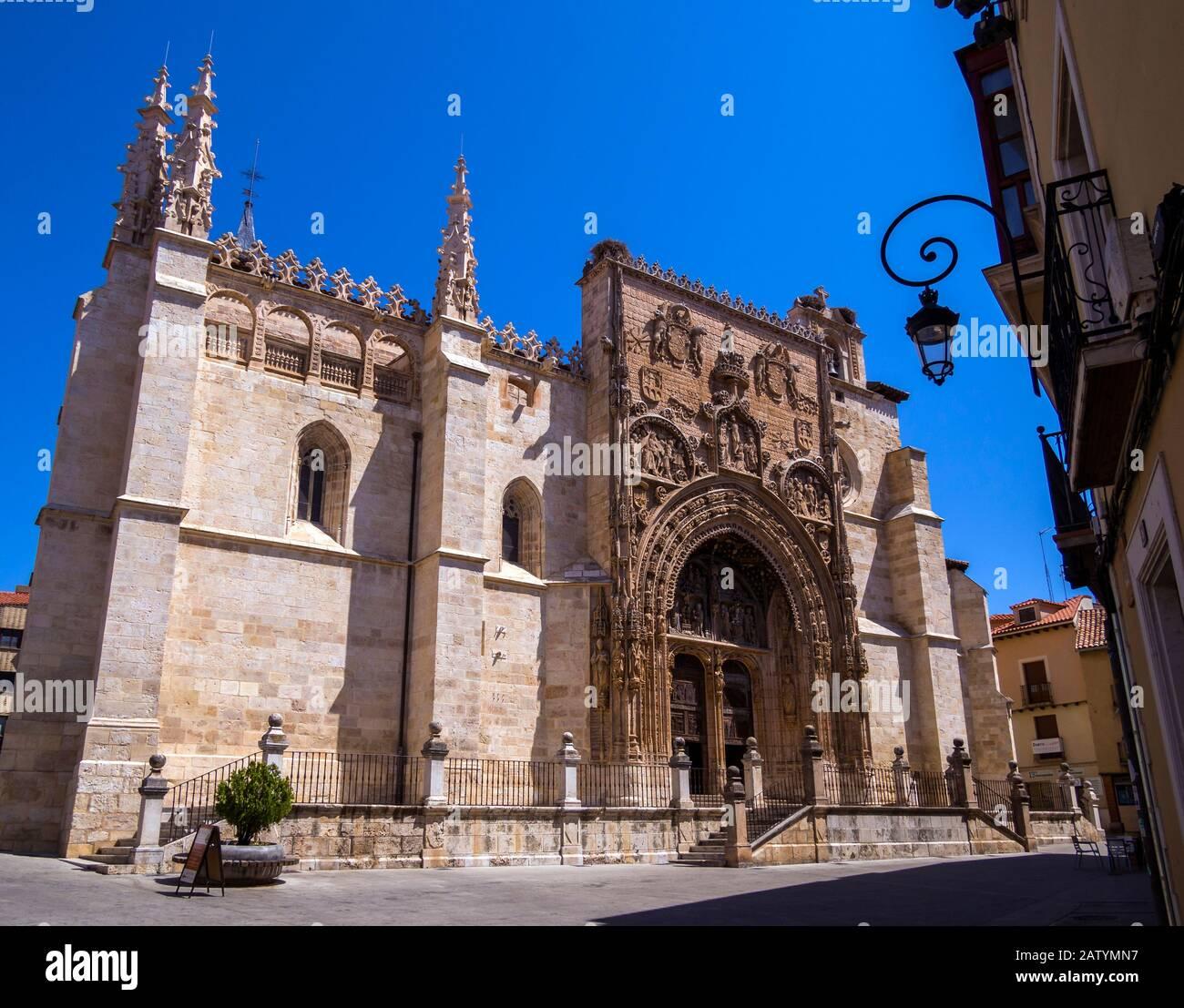 Iglesia De Santa Maria Aranda De Duero Burgos Castilla Leon