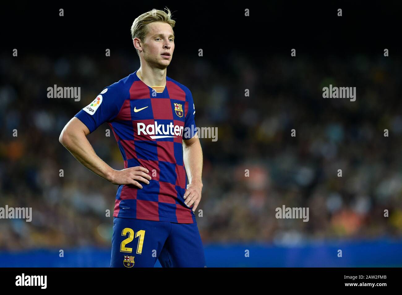 Barcelona Spain October 06 Frenkie De Jong Of Fc Barcelona During The La Liga Match Between Fc Barcelona And Sevilla Fc At Camp Nou On October 06 Stock Photo Alamy