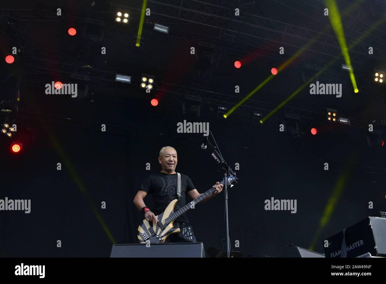 Music Festival Finland Stock Photo