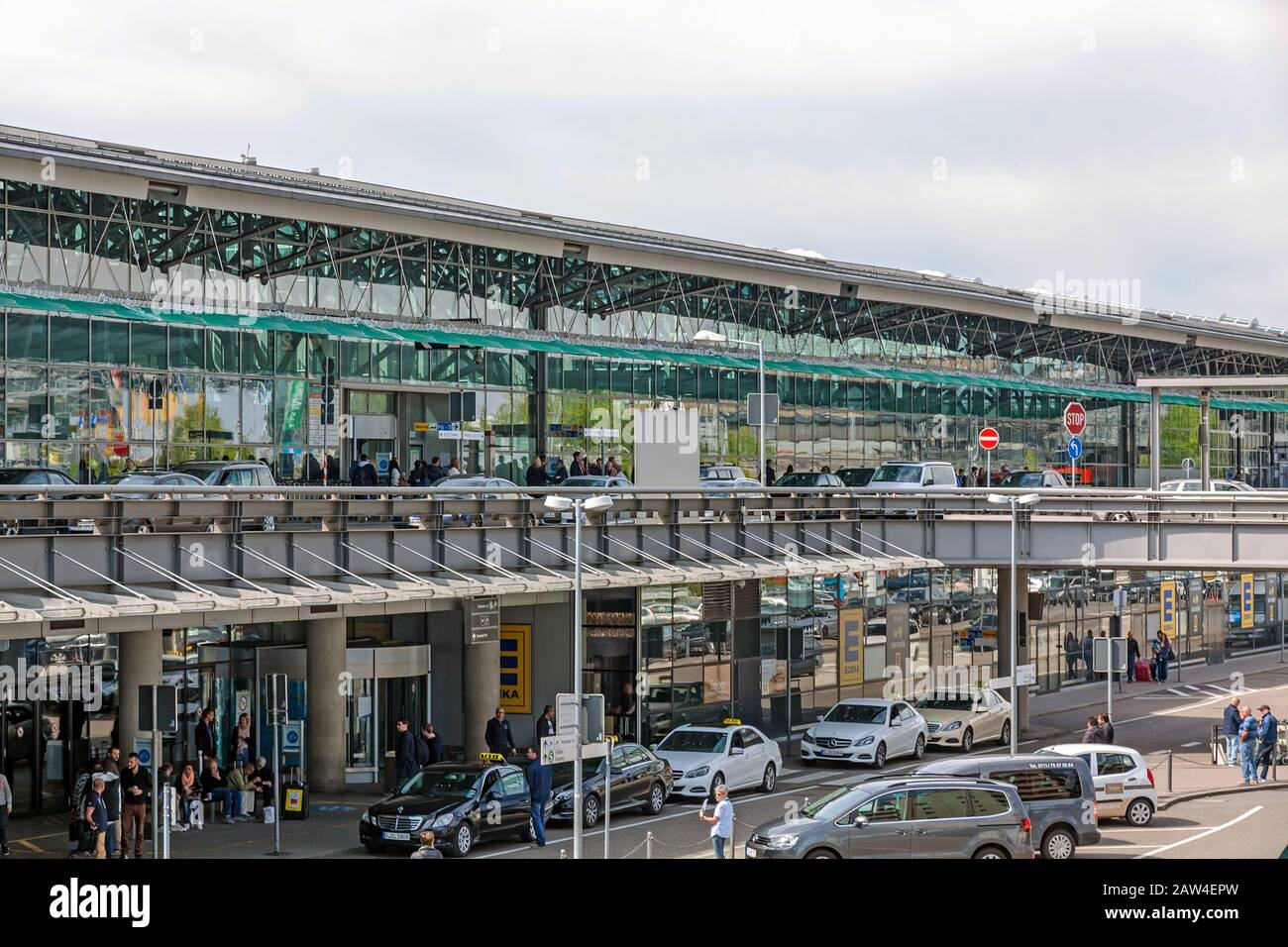 Stuttgart, Germany   May 20, 20 Airport Stuttgart, Terminal 20 + ...