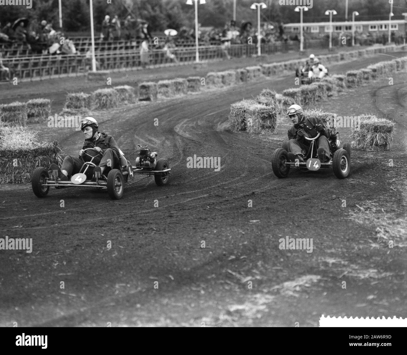 National Karting Competitions In Amsterdam Date July 17 1960