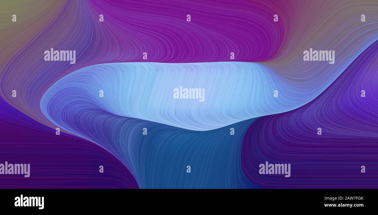 Colorful Creative Fluid Marble With Modern Soft Swirl Waves Background Illustration With Dark Slate Blue Baby Blue And Midnight Blue Color Stock Photo Alamy