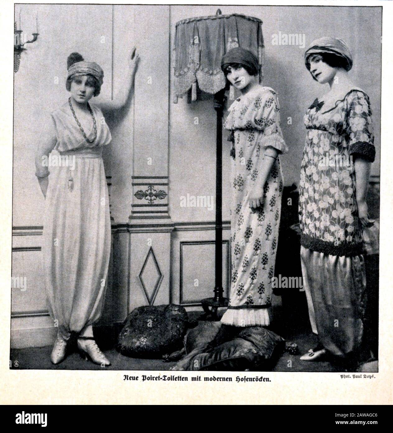 1911 Paris France The French Fashion Designer Paul Poiret 1879 1944 His Contributions To Twentieth Century Fashion Have Been Likened To P Stock Photo Alamy